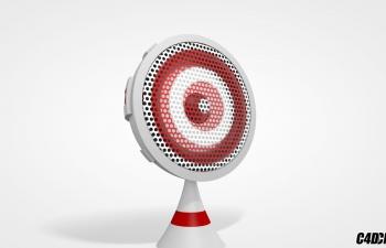 个性音响 小音箱 C4D模型
