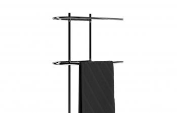 C4D模型 落地式毛巾衣物晾衣架模型
