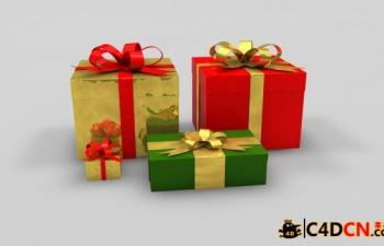 圣诞礼物Christmas gift boxes