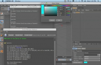 C4D Python语言入门教程Cineversity - Introduction to Python in C4D