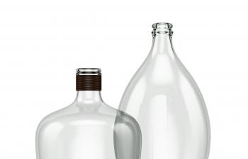 C4D模型 玻璃水瓶模型
