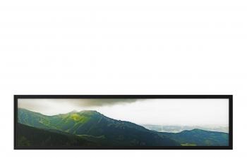 C4D模型 超宽幅山区风景画框相框模型