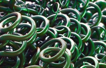 Octane渲染器绿色尼龙绳C4D模型