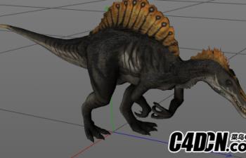 恐龙绑定带模型07