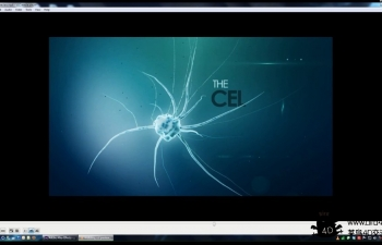 C4D+AE病毒生长动画附带工程