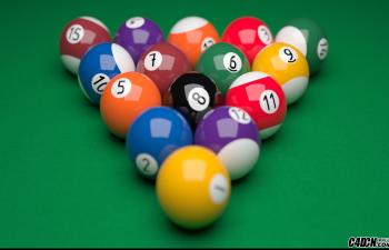CINEMA 4D教程—— Redshift渲染桌球技巧
