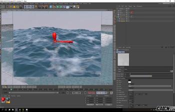 CINEMA 4D教程——创建真实的海洋