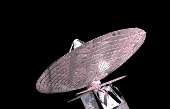 C4D雷达模型