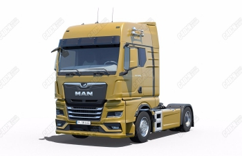 3DSMAX写实货运卡车牵引车头汽车模型下载