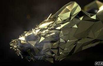 C4D教程 nike 耐克鞋子广告合成教程 阿诺德渲染器渲染