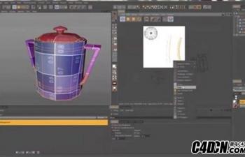 C4D 创建UV贴图教程Creating UV maps with BodyPaint