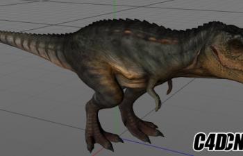 恐龙绑定带模型08