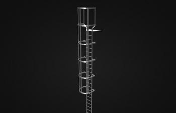工业建筑爬梯、侧梯