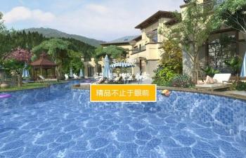 3D模型 别墅私人游泳池