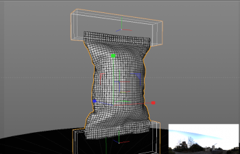 动力学包装袋模拟