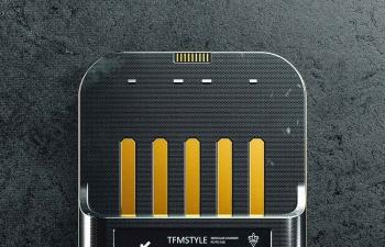 Octane渲染器硬盘金手指芯片收音机喇叭数码设备C4D模型