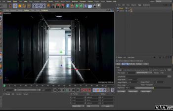 CINEMA 4D教程——将照片转化为现实场景