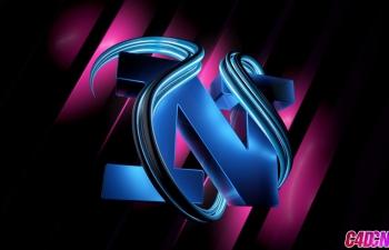 C4D教程 制作一个艺术设计风格的变形文字教程
