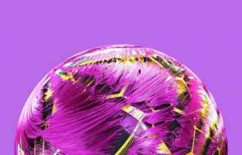 Octane渲染器多层毛发蜂窝纹理球体C4D模型