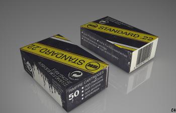C4D产品包装盒纸盒子模型