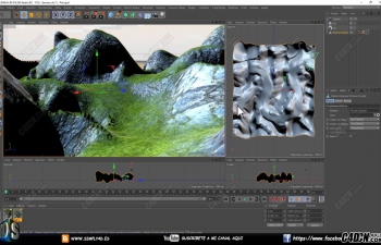 CINEMA 4D教学——虚拟漫游工具的使用方法
