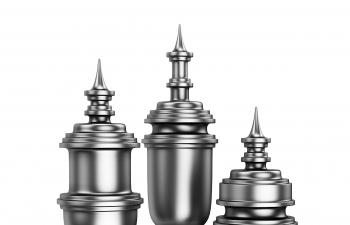 C4D模型 水壶装饰品雕塑模型